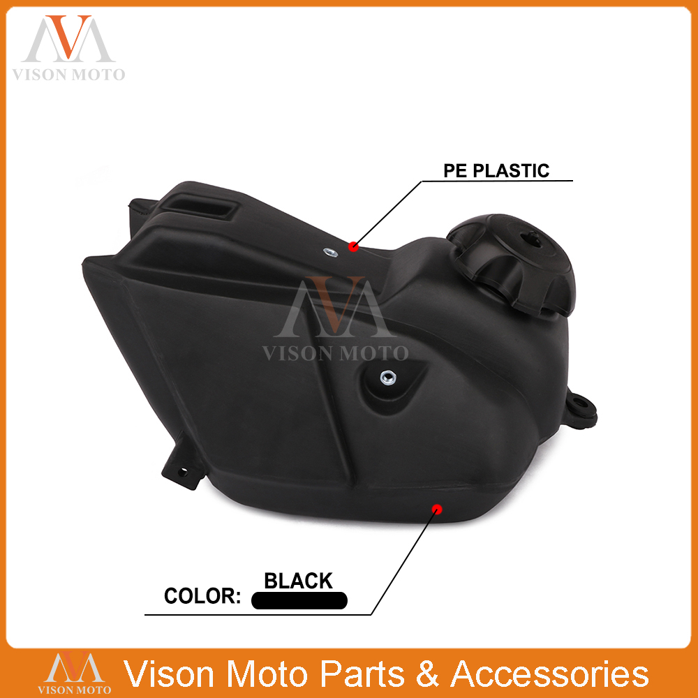 New Gas Fuel Tank For Kawasaki KLX110 And Some 150CC Dirt Pit Bike Motocross Enduro Motorcycle Off Road Supermoto Racing