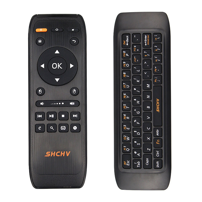 New 2.4G Fly Air Mouse Wireless Keyboard Remote Control Mini Keyboards for Android Smart TV Box Computer Raspberry Pi 3 Laptop new arrival 2 4ghz wireless fly air mouse mini keyboard remote control with ir learning function for android tv box pc computer