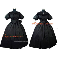 Elegant Gothic Punk Medieval Victorian Gown Ball Outfit Dress Cosplay Costume Custom made[G563]