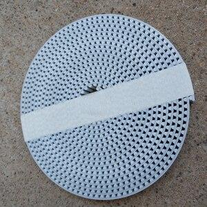 Image 5 - Ремень ГРМ HTD5M шириной 15, 20, 30 мм, цвет белый, полиуретан, со стальным сердечником, HTD, 5 м, с открытым концом, шаг 5 мм, шкив