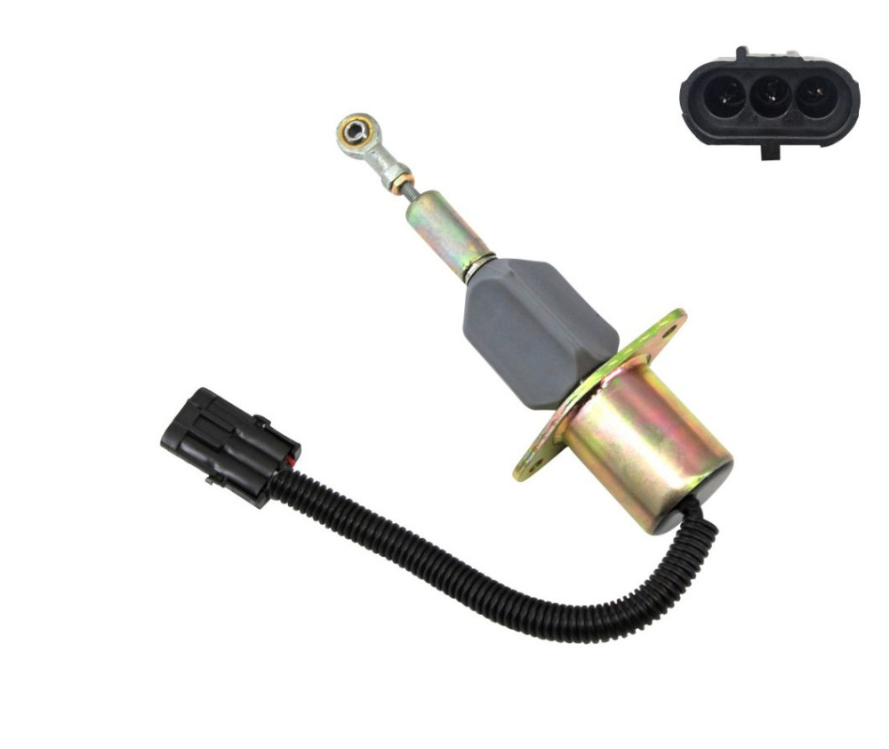 Fuel Shut off Solenoid Valve 3930233 SA 4335 12 for Diesel Engine 6CT 8 3L