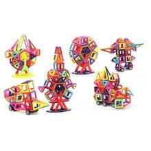 Une variété de combinaisons Designer Magnétique Construction Set Enfants Enfants Puzzle Jouets Multiples Couleur Modèle Kits de Construction Cadeau