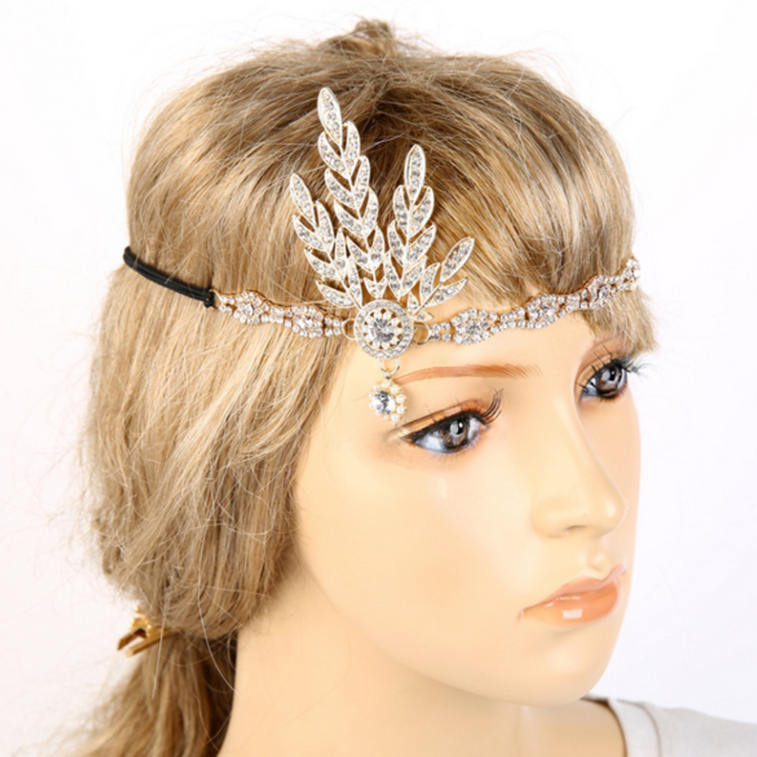 Great Gatsby Inspired Hair Accessories Wedding Ideas