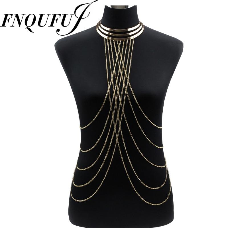 Metal Choker necklace Women Necklaces&Pendants big Long Necklace Chokers 2017 Punk Sexy Statement summer jewelry цена 2017