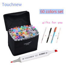 60 Colors set Marker artistic Copic sketch markers Double Tips Art alcohol based Markers brush pen Professional Drawing Painting