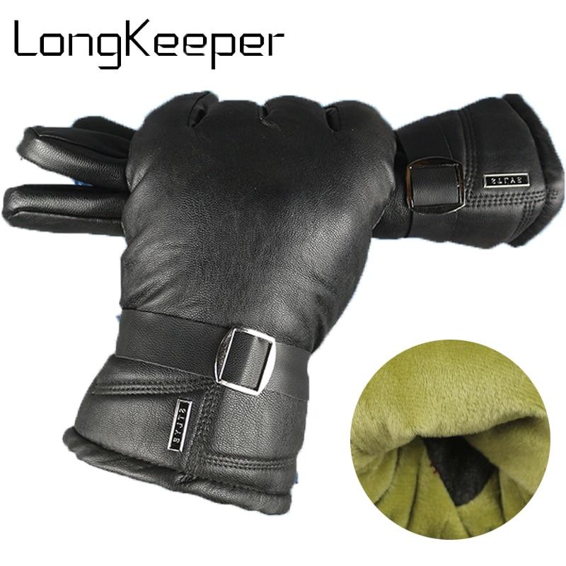 Clothing NO.22 1 Pair Mens Touchscreen Winter Gloves Warm Thicken Full Finger Gloves Gloves