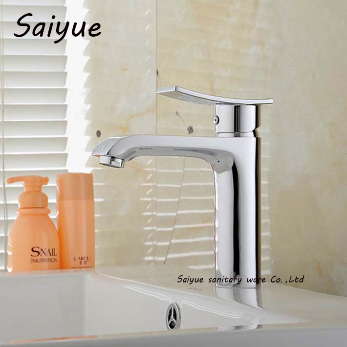 Modern Style Bathroom Faucet Vanity Vessel Sinks Mixer Tap Cold And Hot Water Grifo Chrome Basin Sink Torneira