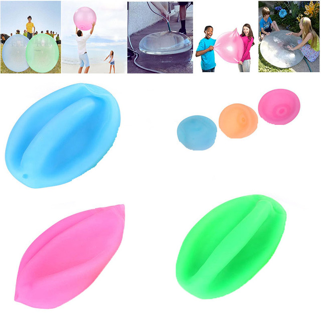120cm TPR Bubble Water Balloon Ball Funny Toy Ball Amazing Super-large Rubber Bubble Ball Inflatable Toys For Kids Outdoor Play2