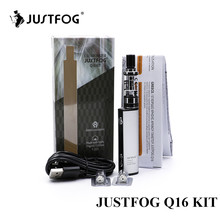 original justfog Q16 starter kit 900 mah built-in battery variable voltage anti leakage with justfog Q16 Clearomizer