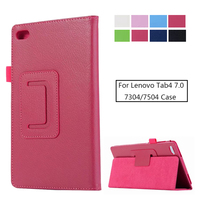 For lenovo TB-7304F 7304X 7304I Cover Protector Skin Tab7 Essential Holder Bag for Lenovo Tab 4 7 inch TB 7504 Tablet Case