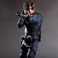 32cm 1/6 Resident Evil 2 Leon S. Kennedy Collectible Action Figure Soldier Set Toy Scale dolls Models Boys Gift