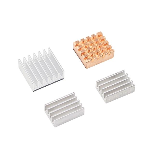 Khadas Heat Sink kit 1 Cooper 3 Aluminum Cooling Radiator for Khadas VIM Basic PRO VIM2 MAX Development Board for Orange Pi PC