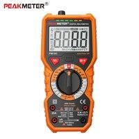PM890D PM890C PEAKMETER Digital Multimeter Frequency Temperature hFE NCV Multifunctional Testor Voltage Resistance Capacitance
