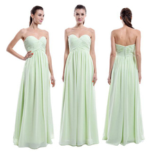 cheap 2015 new sweetheart long bridesmaid dresses weddings for woman Sexy evening party gowns vestidos para festa madrinha 2015 new sweetheart long bridesmaid dresses for weddings womans chiffon sexy evening party gown vestidos para festa madrinha