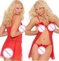Top Quality mulheres Sexy Lingerie Erótica Cordas Teddy Romper Stripper Desgaste bodysuits Roupa Interior Q017-1