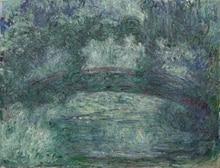 Claude Monet Painting  Japanese Bridge Wall Art Decoration Oil on Canvas Landscape Reproduction Suppliers