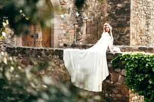 Image 2 - Свадебная накидка, свадебная накидка, искусственная кожа, с капюшоном, ручная работа