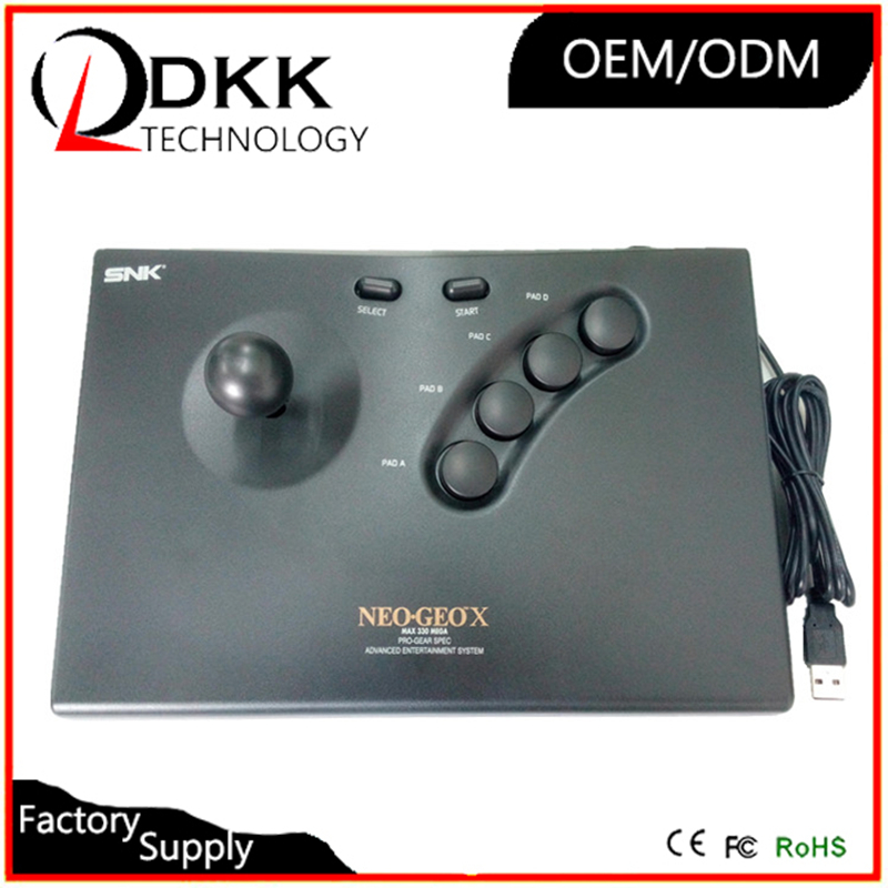 Image 1 - Free Shipping for snk for neogeo joystick USB gamepad controller support PC computer desktop laptop-in Joysticks from Consumer Electronics
