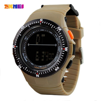 SKMEI Outdoor Military Watch 50m Waterproof Electronics Wristwatches Fashion Casual LED Digital Sports Watches Men 0989