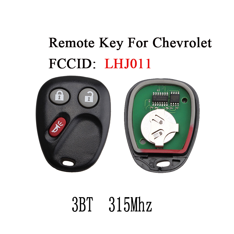 Keyecu Remote Car Key Keyless Fob for Hummer H2 2003-2006 FCC:LHJ011