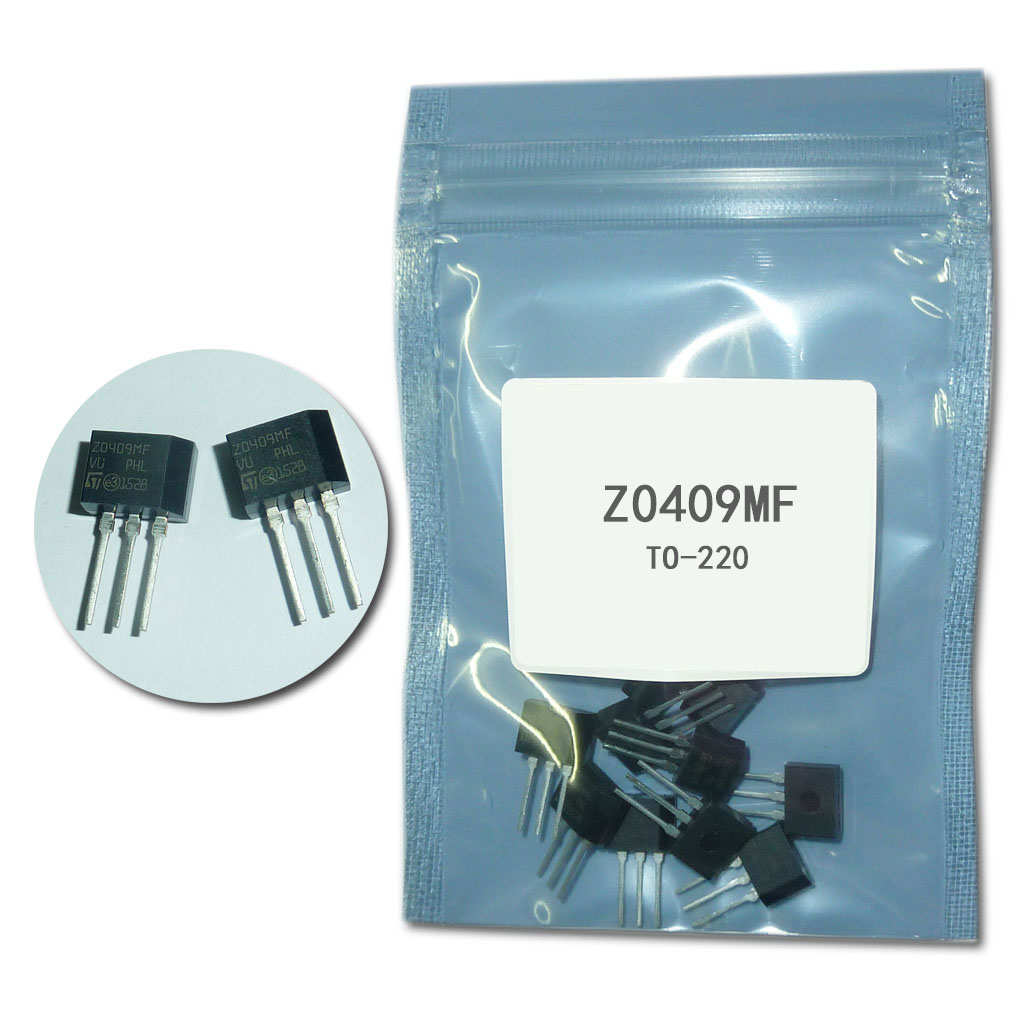 free shipping 10pcs/lot <font><b>Z0409MF</b></font> thyristor 4A/ 600V TO- 220 image
