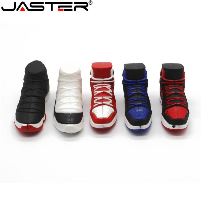 JASTER Shoe Style Sports N Ike Usb Flash Drive 4GB 8GB 16GB 32GB Memory Stick Shoes Pendrive Pendriver Mini Usb Disk Best Gifts