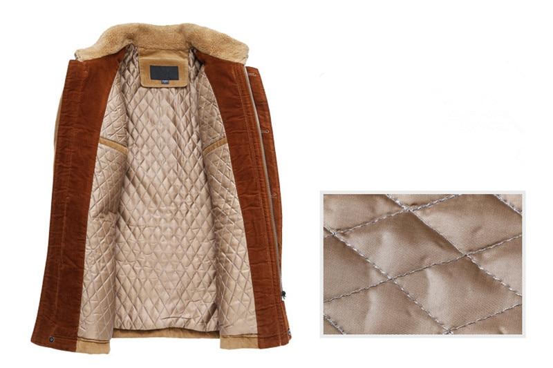 Abrigo clásico grueso de invierno chaqueta de negocios para hombre abrigo de lana casual de alta calidad para hombre, rompevientos para hombre, talla M a 6XL, 7XL - 4