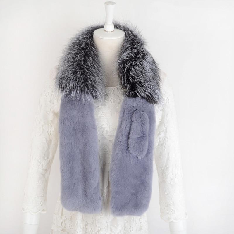 Foulard gris spécial nouveauté femmes sexe dame amour échantillon confortable 100 cm longueur nouveauté automne unique femme ET4030-11 - 2
