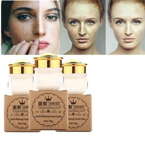 Dimollaure whitening Freckle face cream Removal melasma Acne scar pigment Melanin brown spots sun spot Retinol kojic acid cream