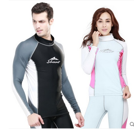 SBART Men Women UPF50+ Wetsuit Anti-ultraviolet Quick-Dry Outdoor Sport Swimsuit Diving Surfing Shirts Pants Swimming Rashguard