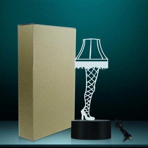 3d ilusao optica perna lampada partir