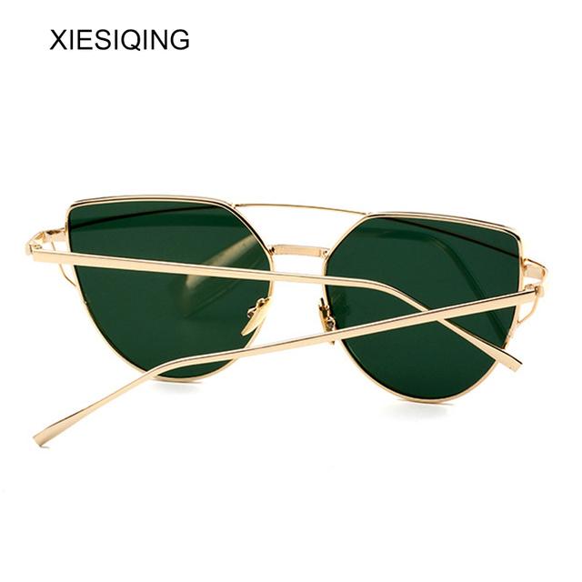 Gradient Ocean Lens Cat Eye Sunglasses