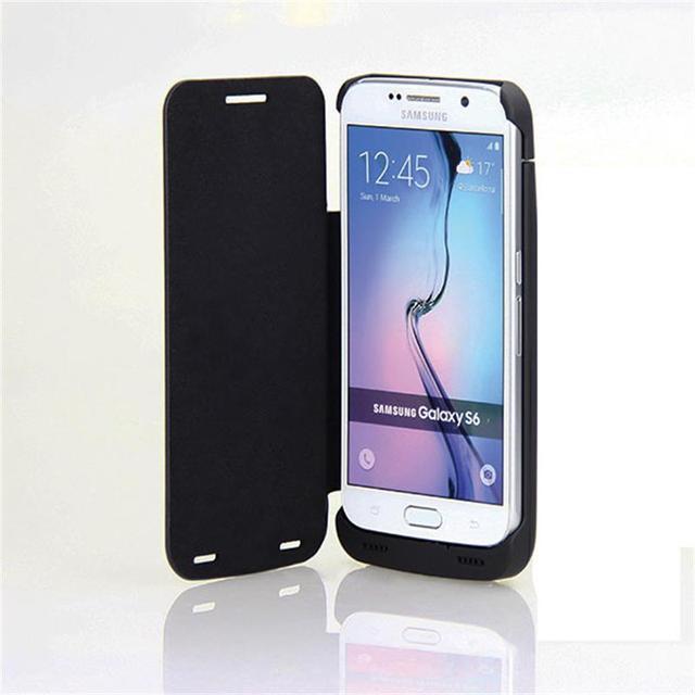 Gagaking 4200 mah venda quente carregador de bateria do telefone móvel para samsung s6 caso com tampa do caso sem fio banco de potência