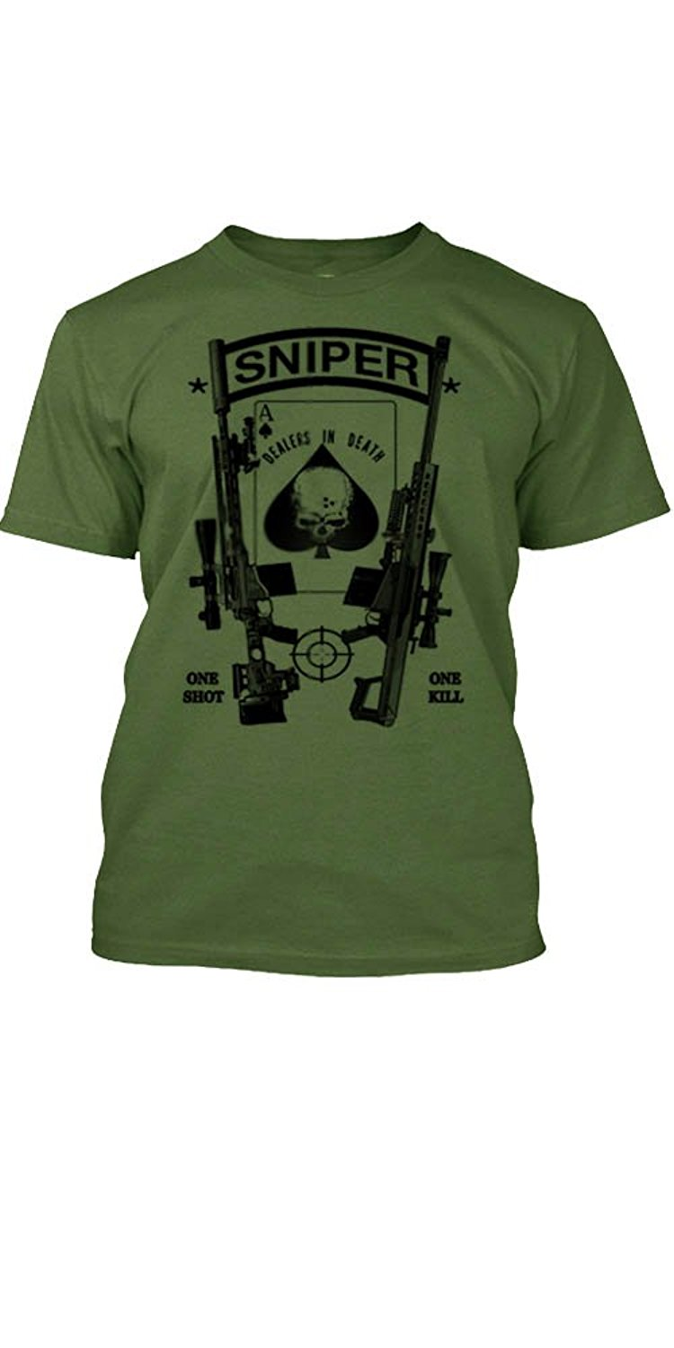 2018 Hot Sale 100% Cotton Military T-Shirt Black Ops Sniper Special Ops Duty Calls Tee Summer Style Tee Shirt