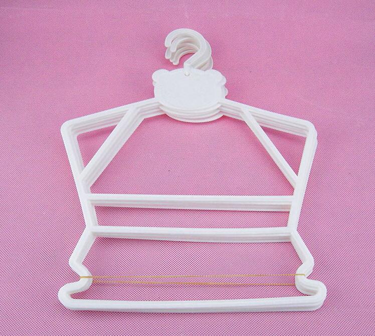 30 unids / lote percha de plástico para niños perchas combinadas - Organización y almacenamiento en la casa - foto 4