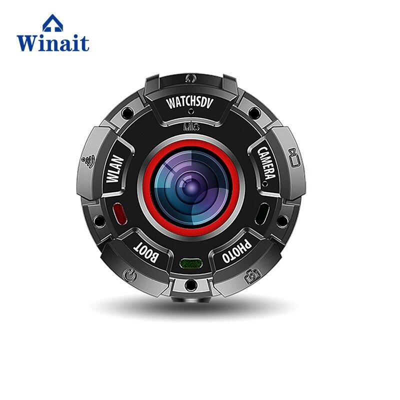 Winait caméra d'action sport de plein air étanche 30 mètres, full hd 1080 p enregistreur vidéo numérique montre caméra