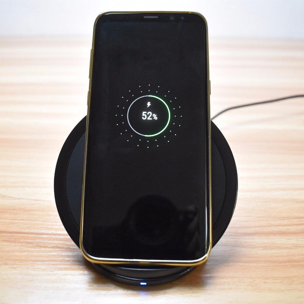 eAmpang Qi Pad de cargador inalámbrico rápido plegable / vertical - Accesorios y repuestos para celulares - foto 4