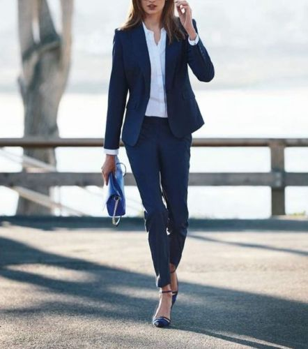 4-1 Custom Made Women Ladies Office Business Suits Jacket+Pants Formal New Hot Suits