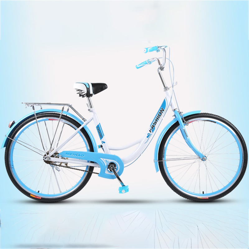 Free Shipping high quality carbon steel material 24 inch Female student retro commuter Producers tourism bike image