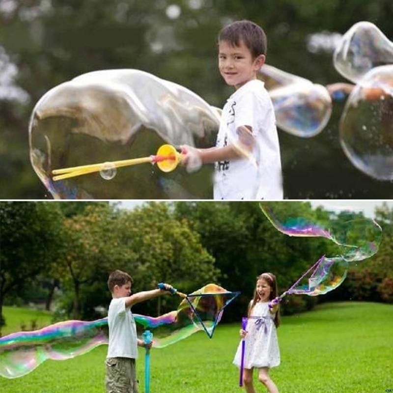 New Large Bubble Western Sword Shape Bubble Sticks Kids Soap Bubble Toy Outdoor Toy