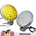 12v 30 LED 5'' Motorcycle Headlight High Low Beam Front Head Lamp Universal Motorbike Light for Harley Cafe Racer Bobber Custom