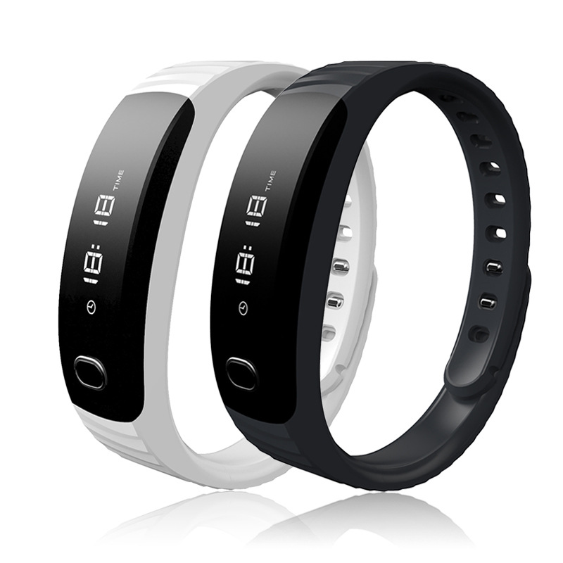 Fitness Tracker smart wristband Watch OLED Sport Bracelet Call Message Reminder