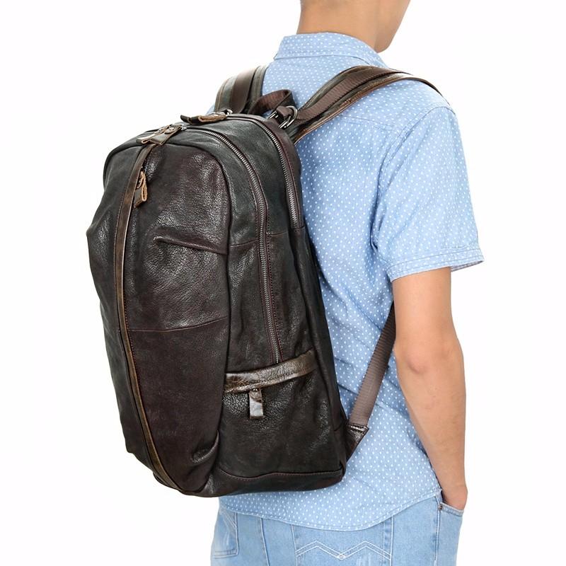 school leather laptop rucksack (6)