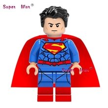 1pcs star wars super hero dc comics Justice League SuperMan building blocks models bricks toys for children brinquedos menina