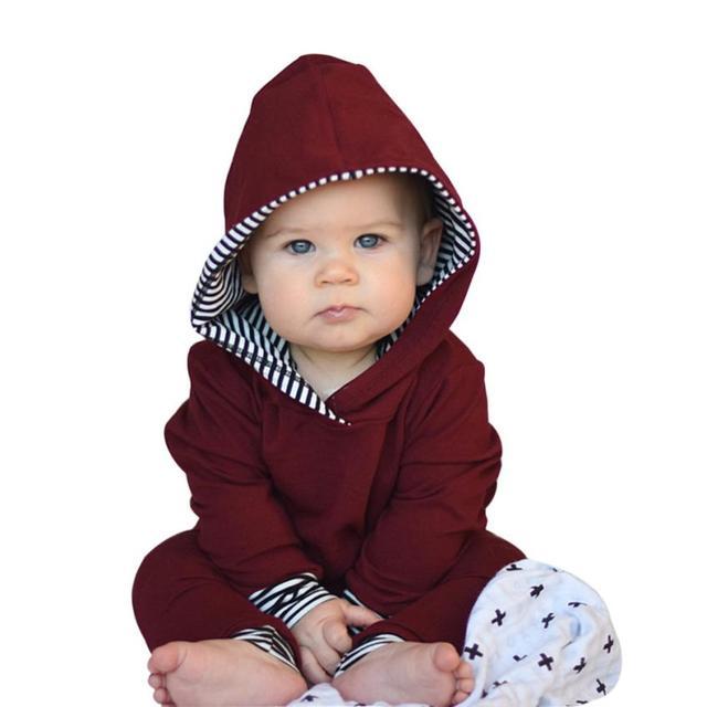 5ef7e32d1 2017 Autumn Baby Boy Clothes 2pcs Toddler Infant Baby Boy Girl ...