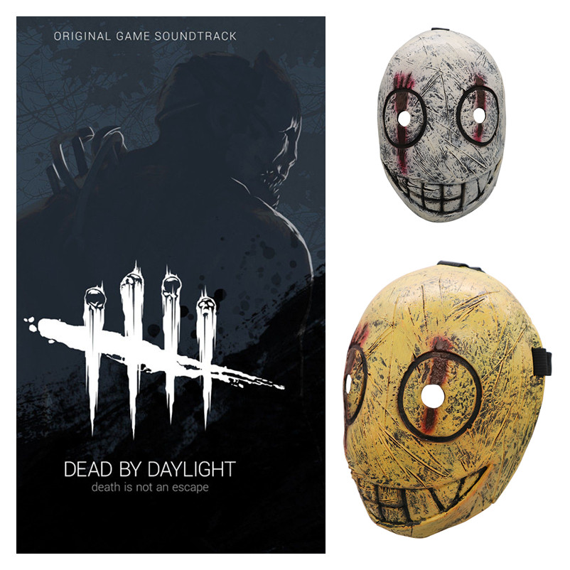 New Game Dead By Daylight Butcher Cosplay Masks The Trapper Child Adult Latex Mask Helmet Halloween Fancy Ball Party Prop 2019