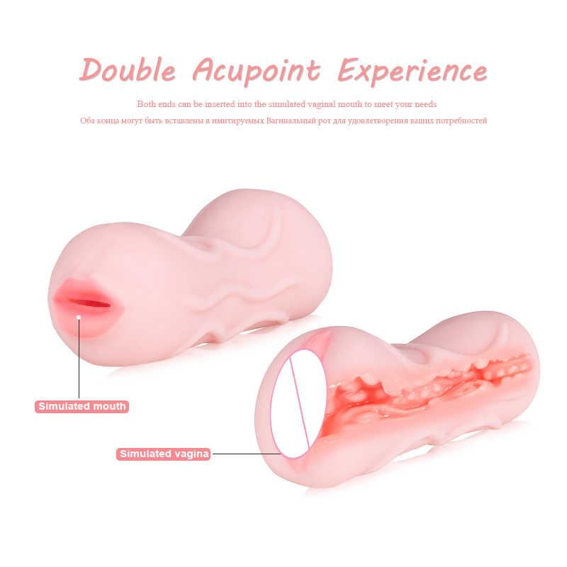 Мягкая Реалистичная киска мастурбатор мужской Глубокая глотка секс-игрушки Искусственный вагинальный мастурбатор чашка водонепроницаемый вибраторы секс-игрушка для взрослых