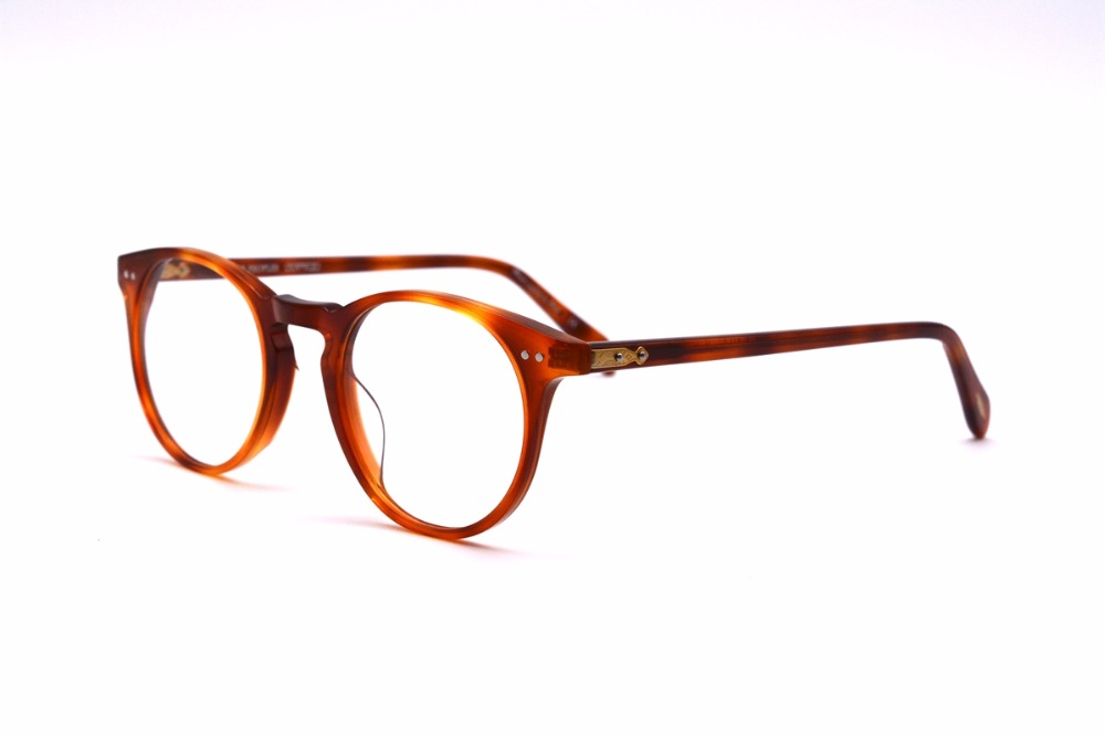 ab65de74f7 Vintage optical glasses Oliver Peoples 5256 o malley Myopia reading Glasses  Frame Men   Women Retro Eyeglasses frame-in Eyewear Frames from Men s  Clothing   ...
