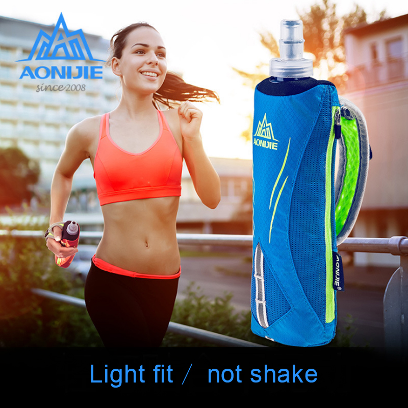 AONIJIE Hot Selling Sport Water bag Bottle Sleeve Protective Bag with y 500mL water bottle Outdoor Bike Bottles 20.5x6.5cm outdoor sports aluminum water bottle green 500ml