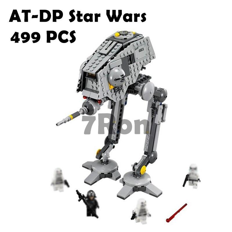 AT-DP Star Wars modellbau kits kompatibel mit lego city 3D blocks Pädagogisches modell & gebäude spielzeug hobbies für kinder